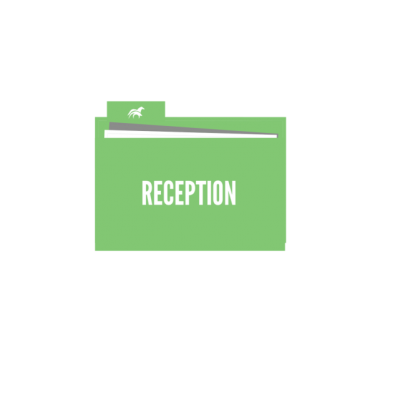 RECEPTION AREA DOCUMENT FOLDER