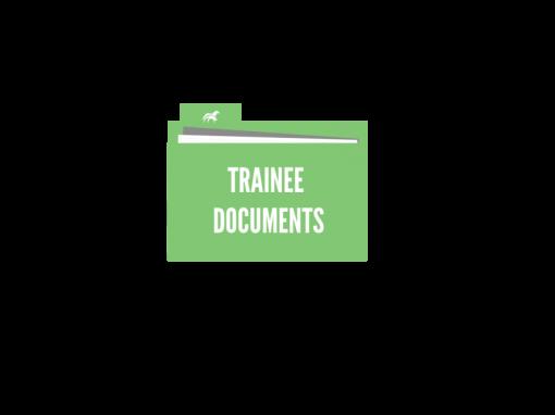 Trainee Document Folder